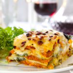 une lasagne végétarienne savoureux et sain!