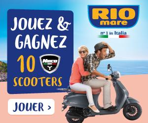 Jouez & Gagnez 10 Scooters