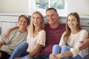Parents avec leur enfants